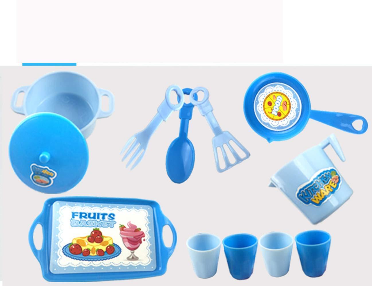 PUDDINGT/® Cucina Elettronica Portatile per Bambini Cucina da Cucina Fornello Giocattolo per Bambini Set da Gioco