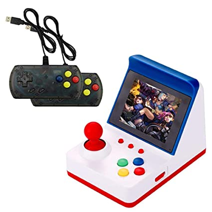 Mini Arcade Game, 3 0 Inch Retro Arcade Console Classic Handheld Video  Games Home Travel Tiny Arcade Machines with 2 Controllers - Build in 360