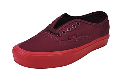 41f1c0243db85c Vans Unisex Shoes Authentic Lite Burgundy Red Fashion Skate Sneakers (7.5  Men s  9