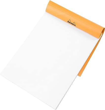 Pack de 3] Rhodia – Cuaderno (A5, en blanco, dibujo arte Pad blanco color 80 hoja papel de dibujo libro: Amazon.es: Oficina y papelería
