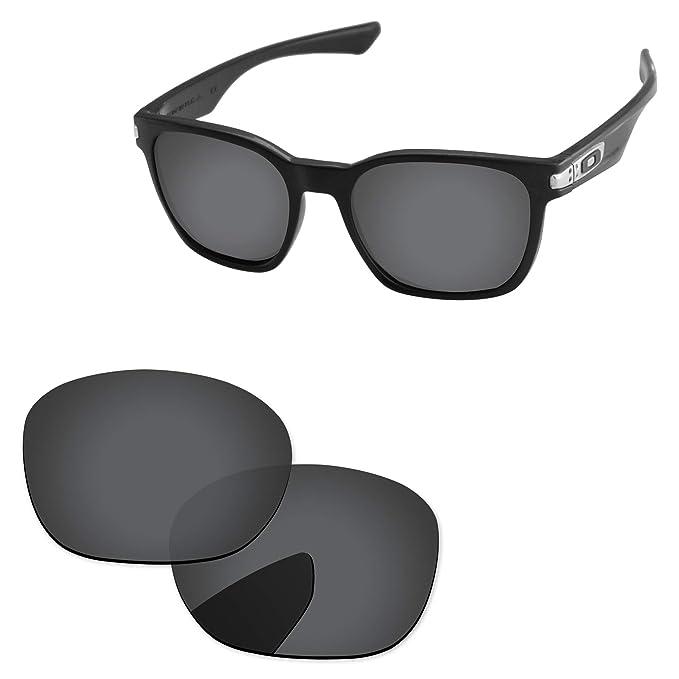 f3532c6755 Amazon.com  PapaViva Lenses Replacement for Oakley Garage Rock Black ...