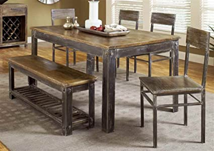 Modus Furniture 5M4761 Farmhouse Dining Table
