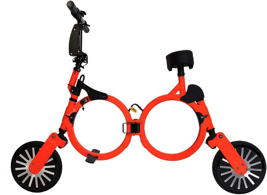 Bicicleta eléctrica Plegable con batería Recargable de Litio 48V ...
