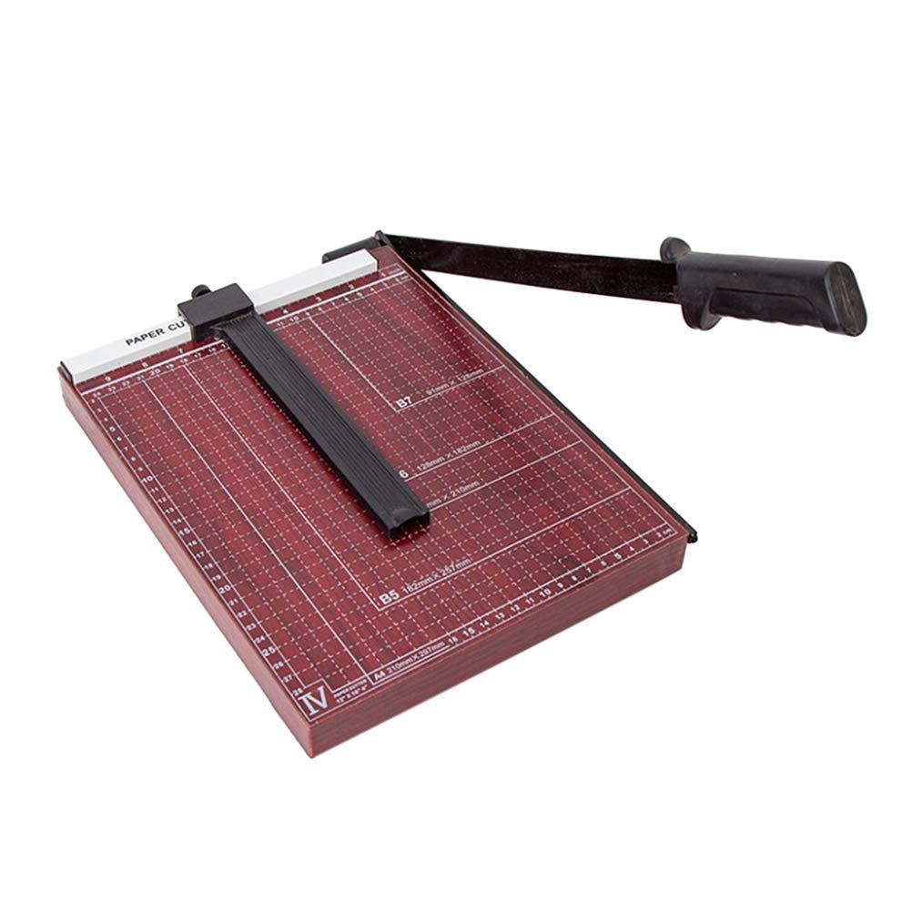 Toyvian A4 Papierschneider Hebelschneider Fotoschneider mit Schnittlinienführung für Schule Büro Zuhause B07Q27GTK4     | Vogue