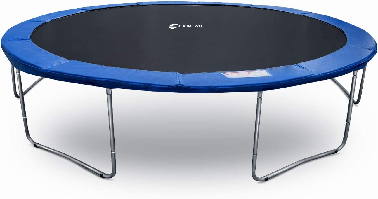 Exacme Outdoor Round Trampoline for Kids 8 10 12 13 14 15 16 Foot Heavy Duty High Weight Limit, T008-T016