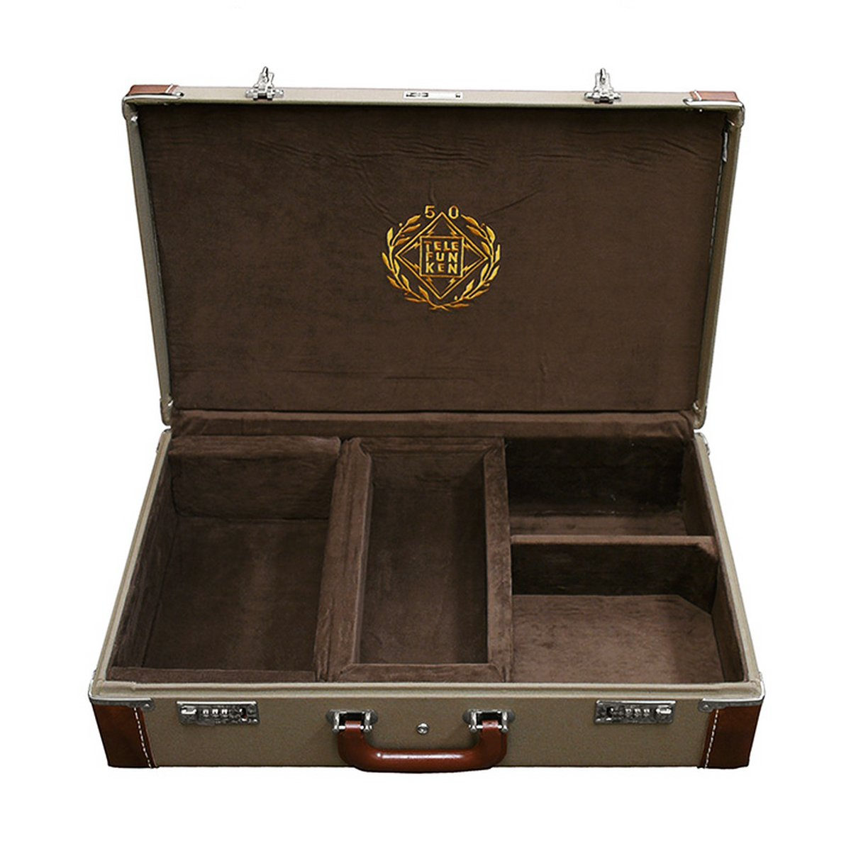 TELEFUNKEN Elektroakustik FC50 | Combination Locking Flight Case Fits ELA M 250/251