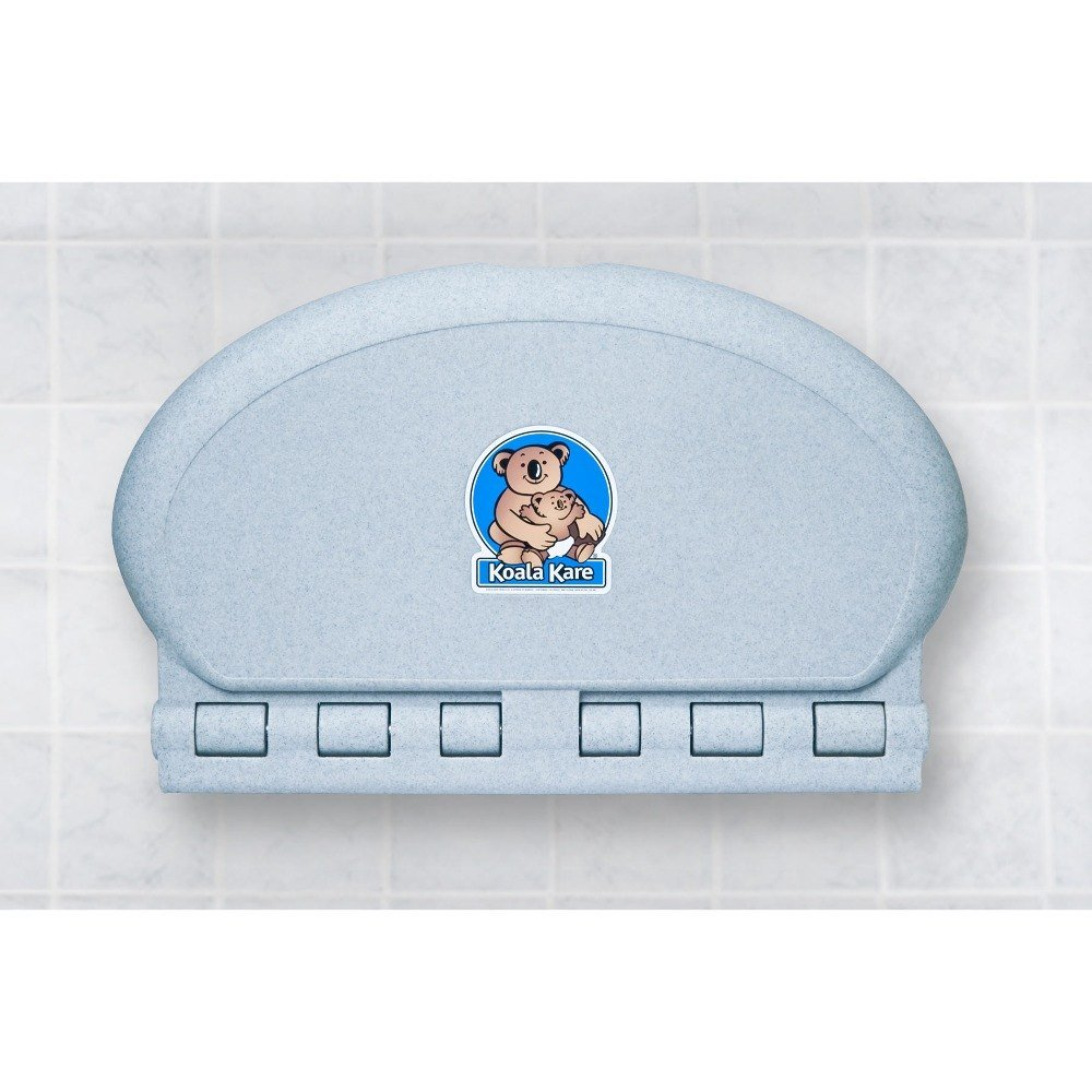 Oval Baby Changing Station Wall Mount Finish: Granite Koala Kare Products KB208-12