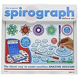 Spirograph Deluxe Design Set & Spirograph Coloring Book & Pencils
