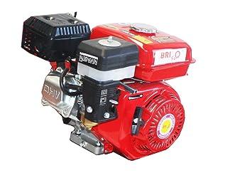 Bricoferr BFJ168F Motor 170F a gasolina para motoazada: Amazon.es ...