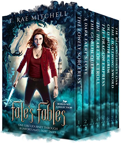 Fate's Fables Boxed Set Collection: One Girl's Journey Through 8 Unfortunate Fairy Tales by [Mitchell, T. Rae]