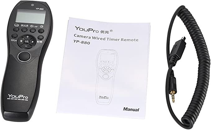 Andoer Youpro Yp 880 Dc2 Kamera Wired Fernauslöser Timer Fernbedienung Lcd Display Für Nikon D500 D750
