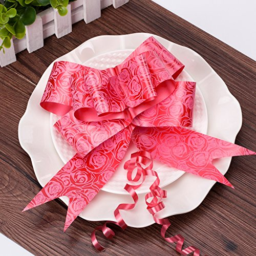 String Bows,  Basket Pull Bows Basket Knot  for Present Wrapping Present Wrap Floral Wine Bottles Decoration, 40 PCS