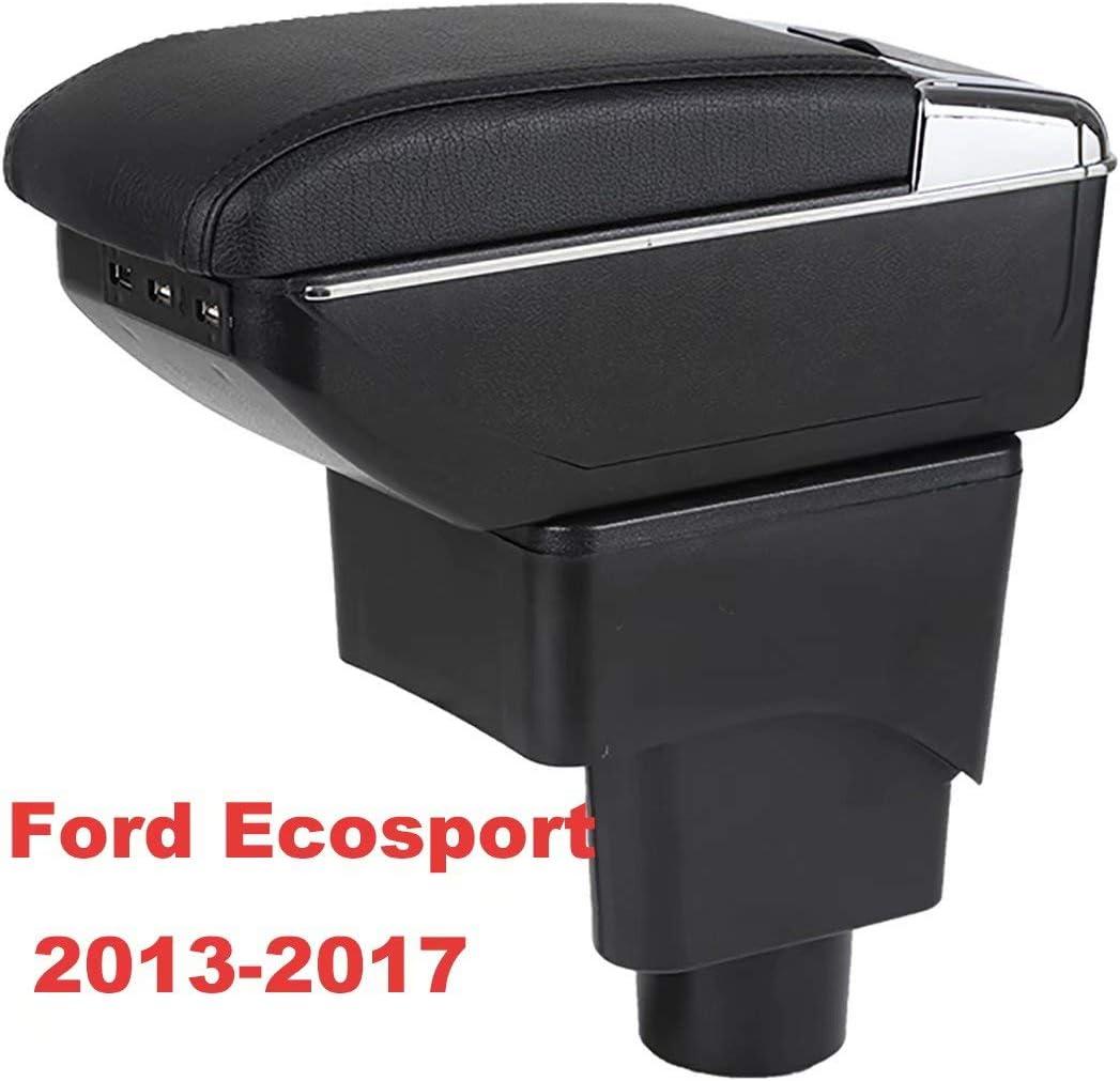 Pour Ecosport 2013-2017 Accoudoirs Bo/îte Consoles main avec porte gobelets et cendrier