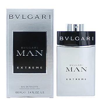 a45db0b608a Amazon.com   Bvlgari Man Extreme Eau De Toilette Spray for Men 3.4 oz. New  with box   Beauty