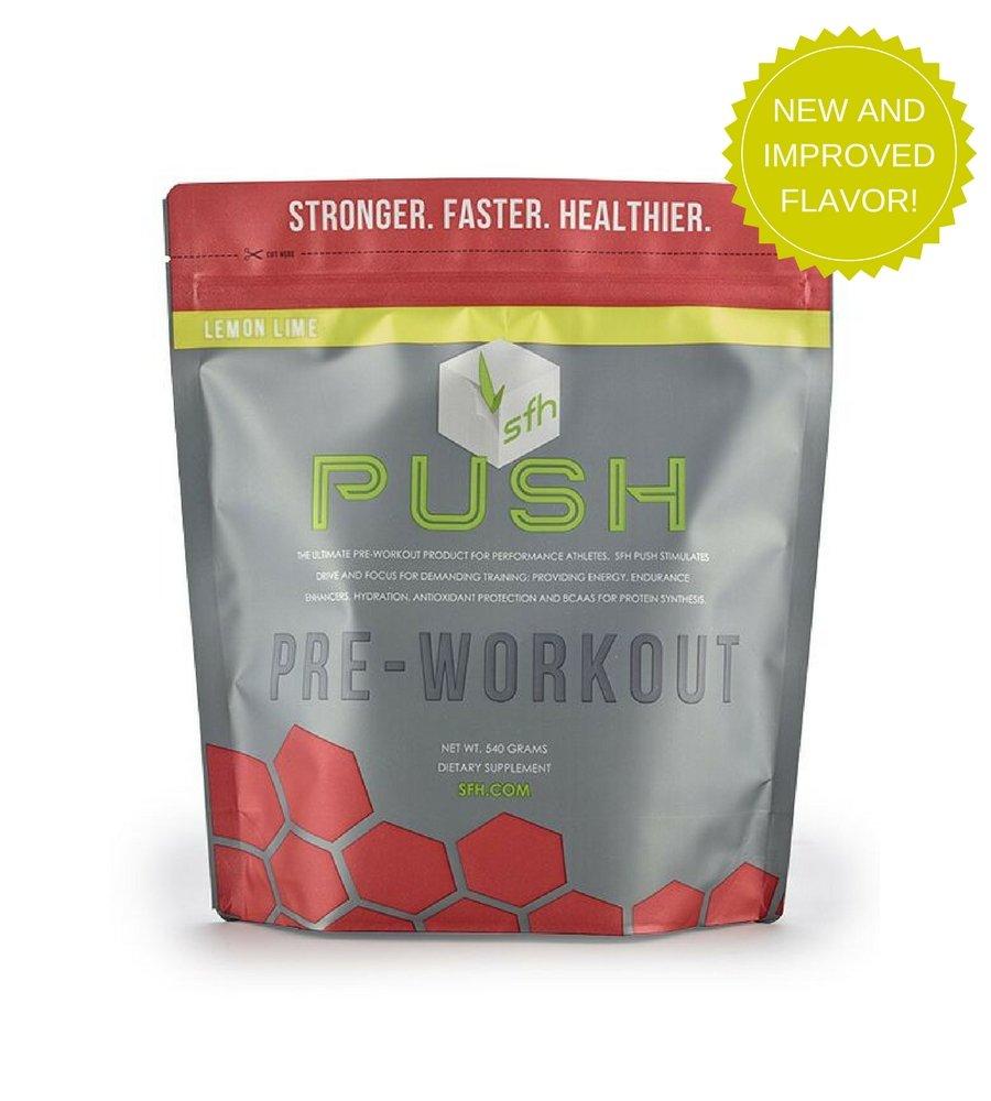 Amazon.com: PUSH Pre-Workout Powder (Lemon Lime) by SFH® | Best ...
