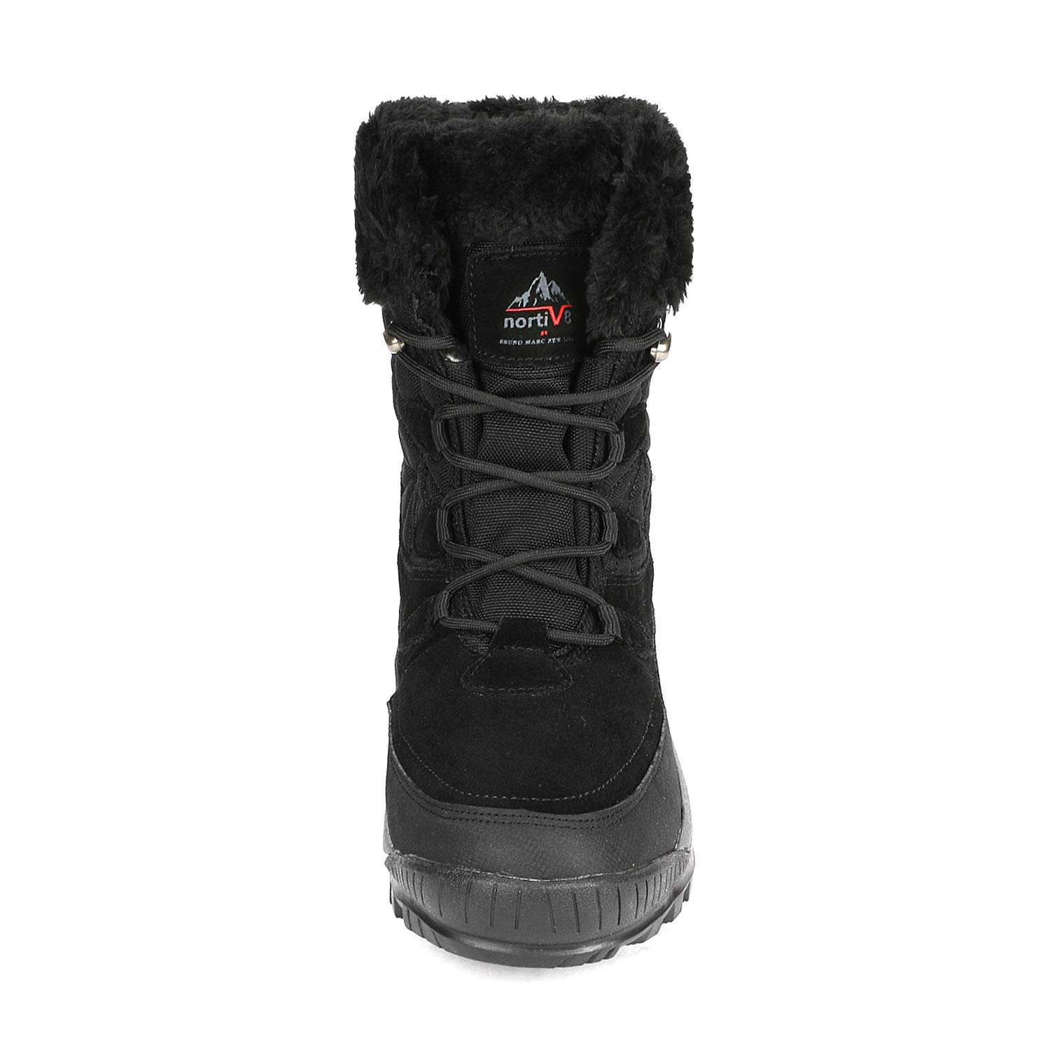 NORTIV 8 Womens A0052 Insulated Waterproof Construction Hiking Winter Snow Boots