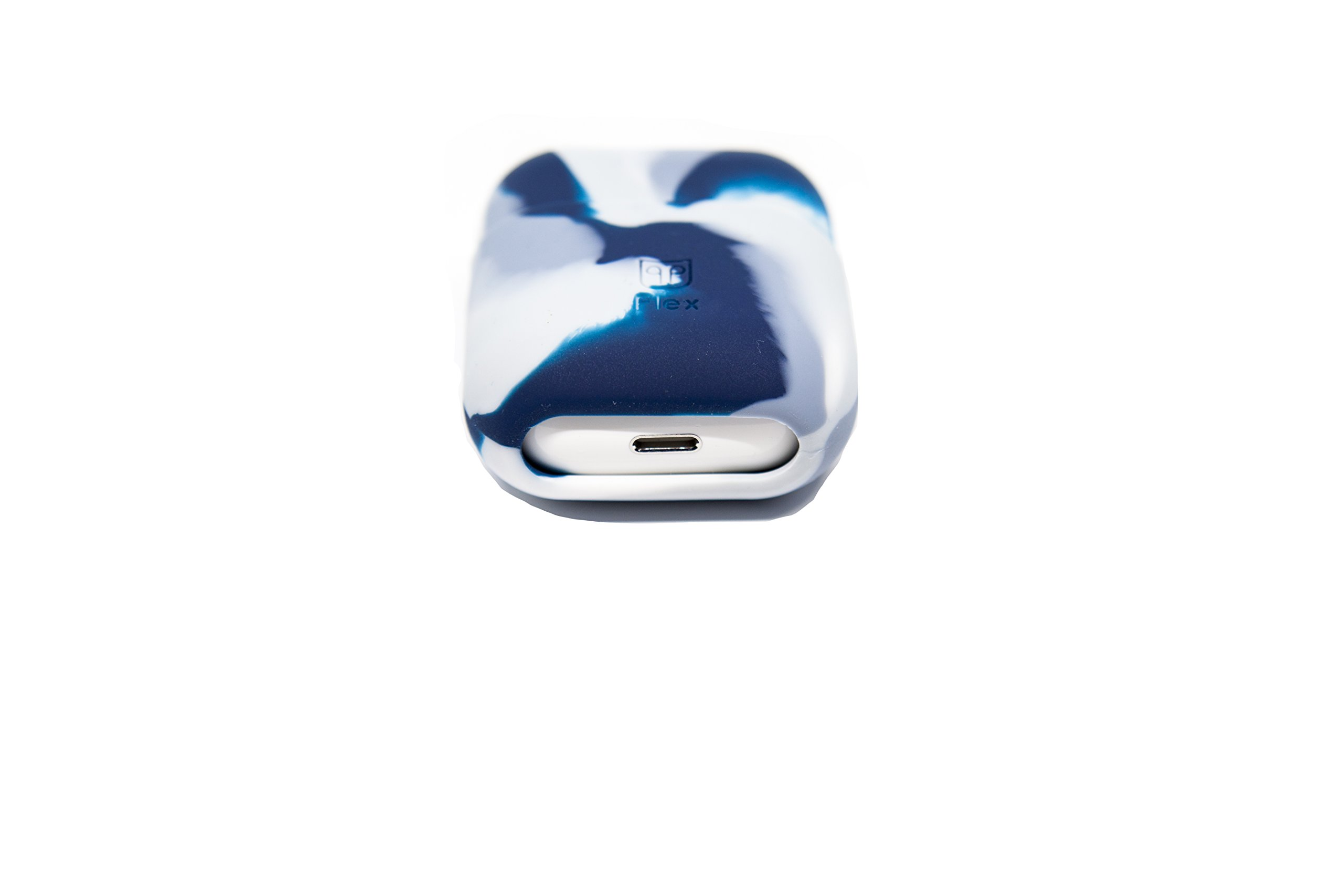 PodPocket Apple Iphone Compatible Flexible Airpods Case, Protective Case, Cover and Skin -(Iceberg Flex)