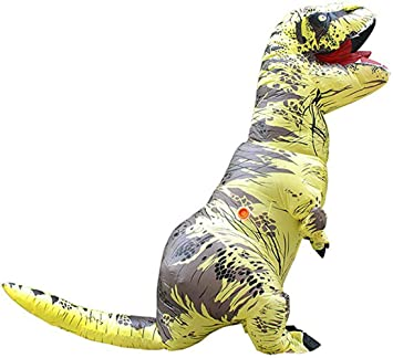 Eupaja - Disfraz Inflable de Dinosaurio para Adulto, Disfraz de ...