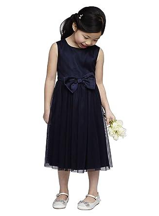 e9bda2498 Amazon.com  princhar Navy Blue Tulle Short Flower Girl Dress Little ...