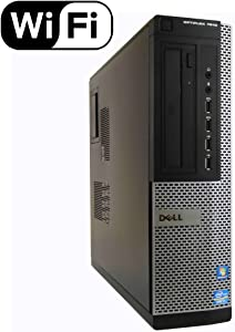 Dell Optiplex 7010 Small Form Factor Desktop Computer, Intel Quad-Core i7-3770 Up to 3.9GHz, 16GB RAM, 2TB 7200 RPM HDD, DVD, USB 3.0, WIFI, Windows 10 Pro (Renewed)