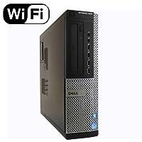 Dell Optiplex 7010 SFF Premium Flagship Business Desktop Computer (Intel Quad-Core i7-3770 3.4GHz, 8GB RAM, 240GB SSD, DVD, VGA, DisplayPort, WiFi, Windows 10 Professional) (Certified Refurbished)