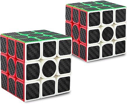 Didisky Cubo Rompecabezas, Cube IQ 3X3X3 Negro Velocidad Puzzle[2 ...