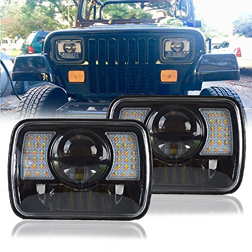 Fiero LED Projector Headlights | Pontiac Replacement LED ...