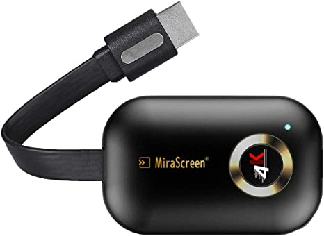 HDMI Adapter WiFi Display Dongle Support Google Home App MiraScreen 5G//2.4G Miracast Dongle Streaming 1080P TV Stick pour Android//iOS//Windows