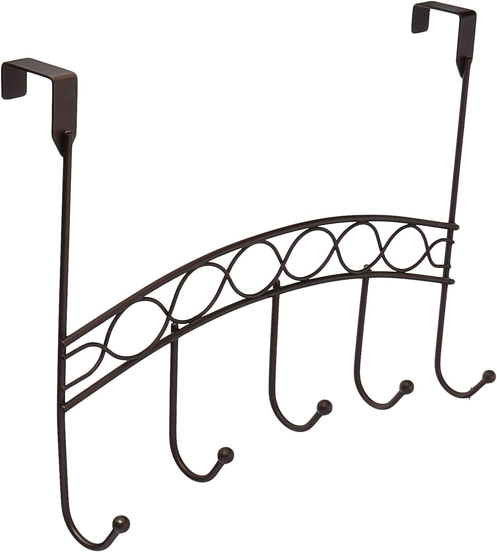 Inspired Living by Mesa utility-hooks, 5 Elegant, BRONZE