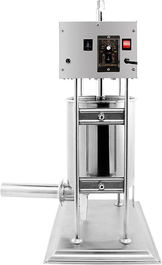 10L Sausage Stuffer Filler MakerMeat Machine Stainless Steel Industrial