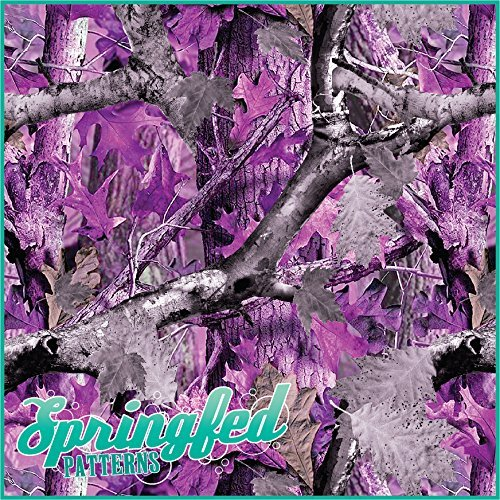 PURPLE CAMOUFLAGE PATTERN Craft Inspired product image