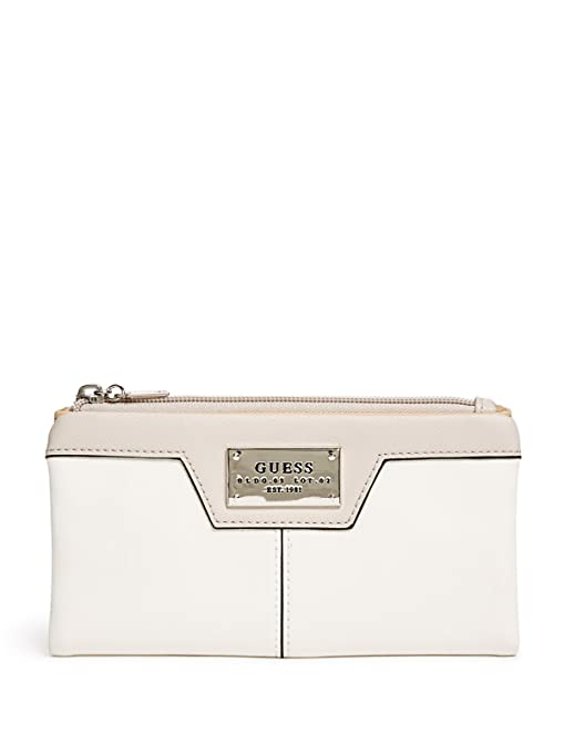 307203b36880 GUESS Factory Women's Capra Foldover Wallet