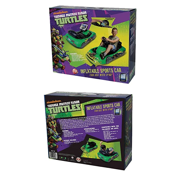 Amazon.com: teenage mutant ninja turtles inflable coche ...