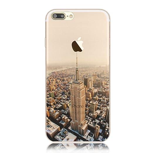 4 opinioni per Cover iphone 7 plus, Custodia iphone 7 plus, Sunroyal® Paesaggio Scenario