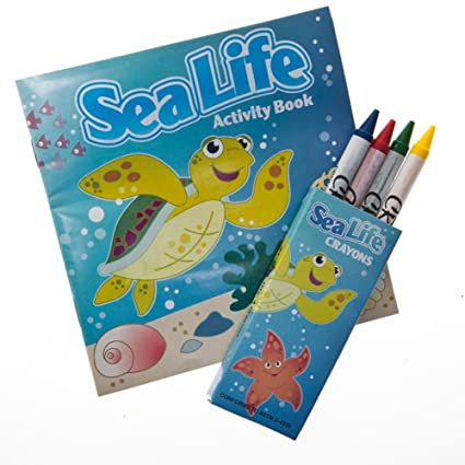 Amazon Com Fun Express 12 Sea Life Tropical Fish Activity