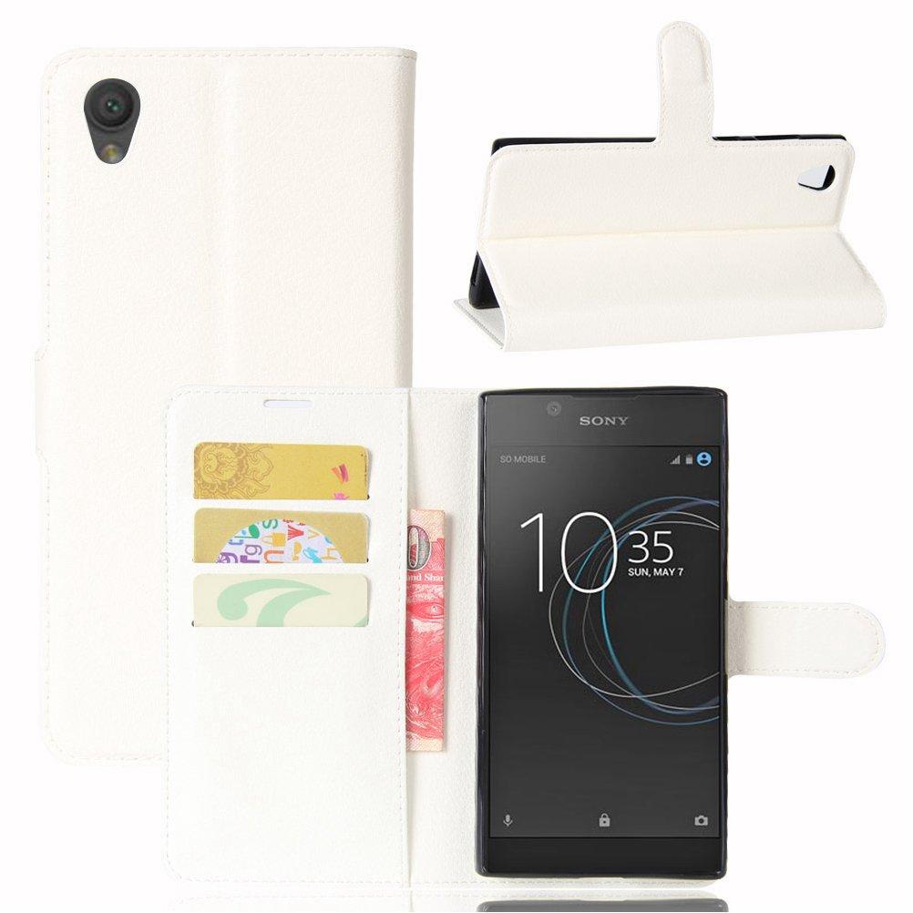 Amazon.com: Sony Xperia Xperia L1 Case–Manyip PU Leather ...