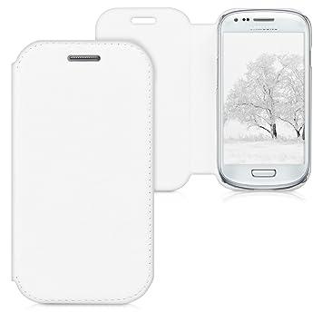 14a3b76f159 kwmobile Funda compatible con Samsung Galaxy S3 Mini i8190: Amazon.es:  Electrónica