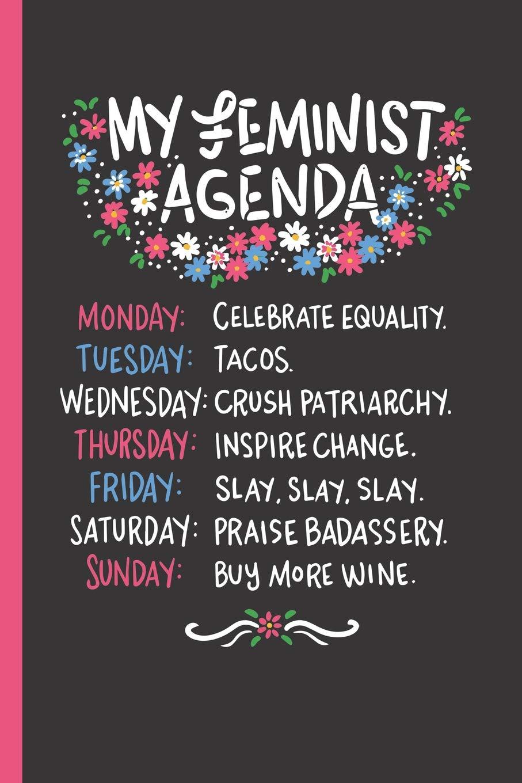 My Feminist Agenda: Notebook & Journal Or Diary For ...