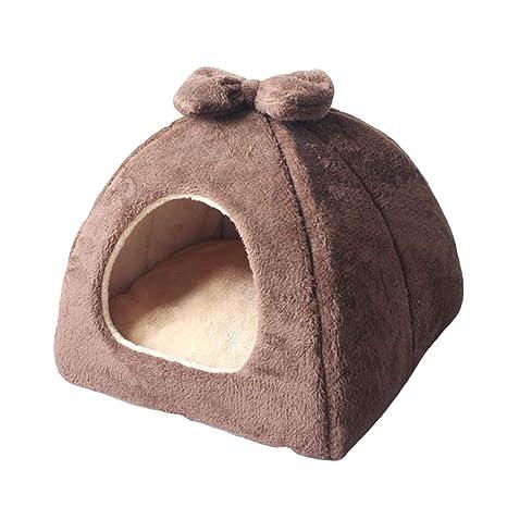 Cama para Mascotas Yurt Cat Litter Perro Pequeño y Mediano Teddy Dog House Four Seasons Invierno
