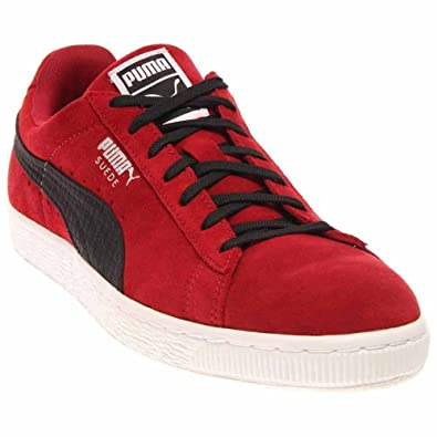 new products 2eba7 cce17 Amazon.com | PUMA Men's Suede Quilted Sneakers (8.5 D(M) US ...