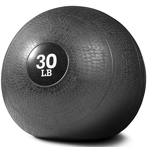 (Titan Fitness 30 lb Slam Spike Ball Rubber Exercise Weight Crossfit Workout)