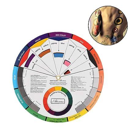 Tres niveles de Guía de diseño de mezcla Ronda La tarjeta de papel ...