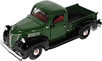 Plymouth 1941 Truck Pick-up Pritsche GrÜn Oldtimer 1//24 Motormax Modellauto Mode