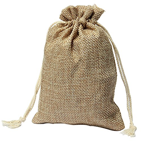 Amazon.com: Bag Wedding - Vintage Burlap Jute Sacks Weddings ...