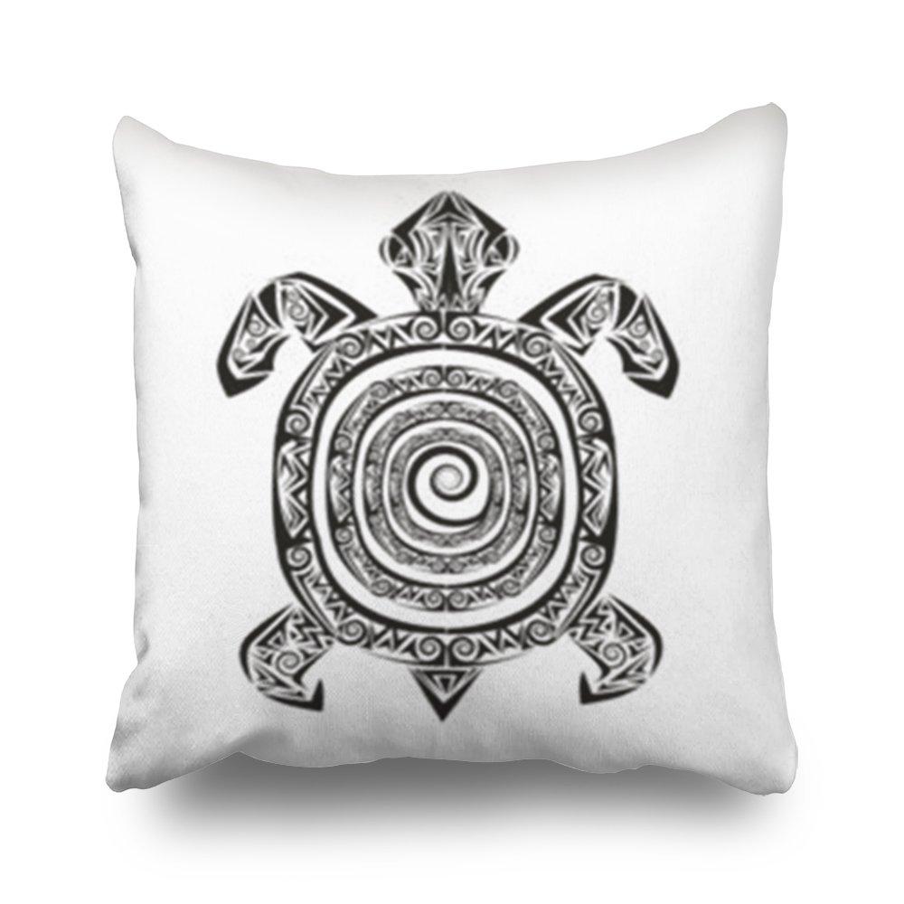 Agooda - Fundas de Almohada Personalizadas para Tatuaje de Tortuga ...