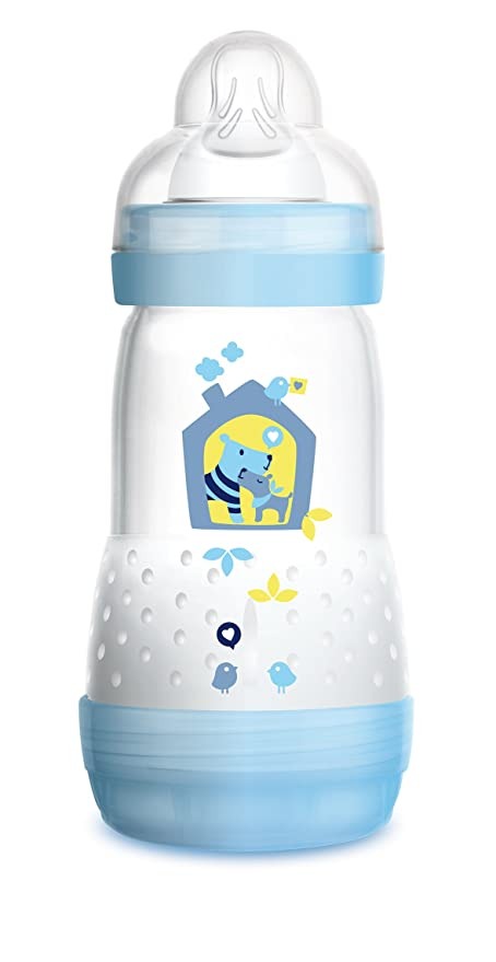 biberon mam bebe boit trop vite