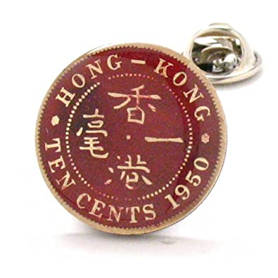 China Chinese 中国 Flag Antique Bronze Cufflinks