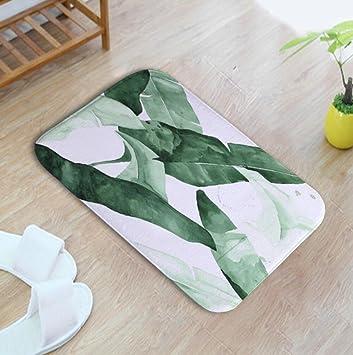 Amazon.de: Grünpflanzen Muster Schlafzimmer Teppich 40 * 60cm, 7
