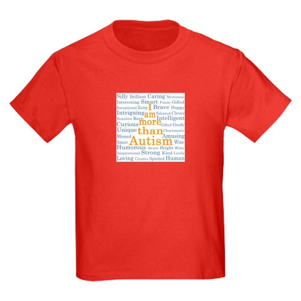 2325c1da06bf Amazon.com: CafePress - I Am More Than Autism - Kids Cotton T-shirt:  Clothing