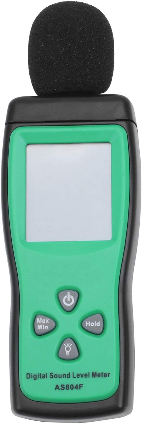 Nrpfell AS804F digitaler Laermpegelmesser Handlaerm Dezibelmeter Dezibelmeter Schallpegelmesser Geraeuschtester
